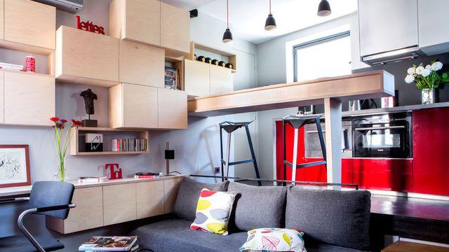 comment d corer un petit appartement ligne de demarcation. Black Bedroom Furniture Sets. Home Design Ideas